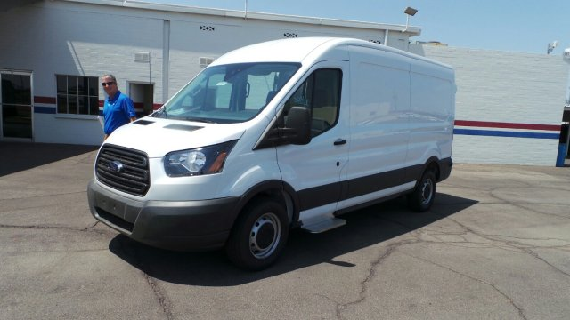 2018 Transit 250 Med Roof 4x2,  Empty Cargo Van #189842 - photo 9