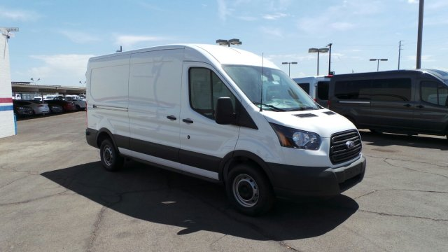 2018 Transit 250 Med Roof 4x2,  Sortimo Upfitted Cargo Van #189991 - photo 5