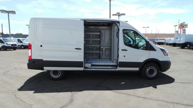 2018 Transit 250 Med Roof 4x2,  Sortimo Upfitted Cargo Van #189991 - photo 7
