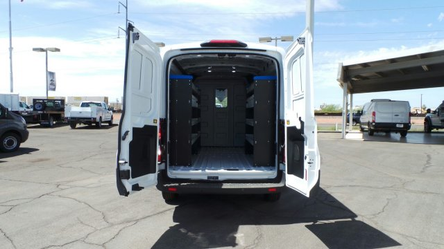 2018 Transit 250 Med Roof 4x2,  Sortimo Upfitted Cargo Van #189991 - photo 9
