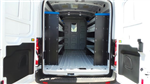2018 Transit 250 Med Roof 4x2,  Sortimo Upfitted Cargo Van #189991 - photo 1