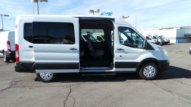 2019 Transit 350 Med Roof 4x2,  Passenger Wagon #193765 - photo 3