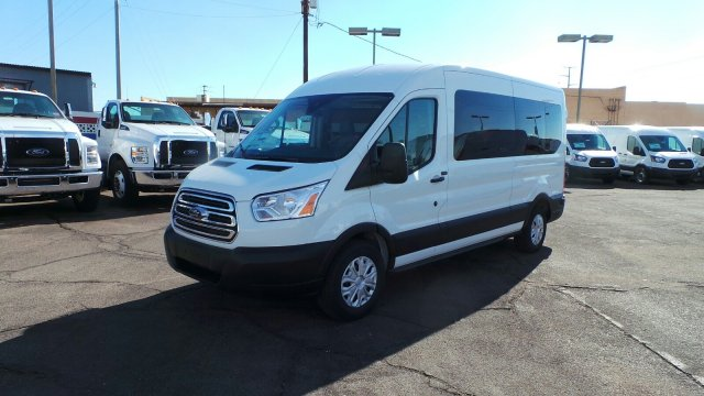 2019 Transit 350 Med Roof 4x2,  Passenger Wagon #193765 - photo 7