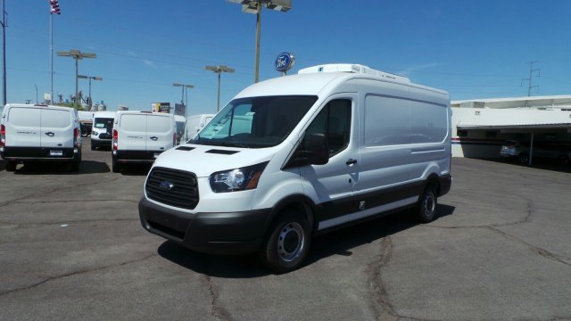 2019 Transit 250 Med Roof 4x2,  Thermo King Direct-Drive Refrigerated Body #194799 - photo 8