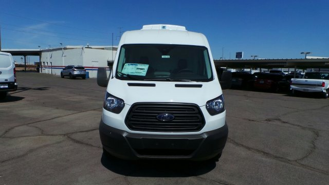 2019 Transit 250 Med Roof 4x2,  Thermo King Direct-Drive Refrigerated Body #194799 - photo 9