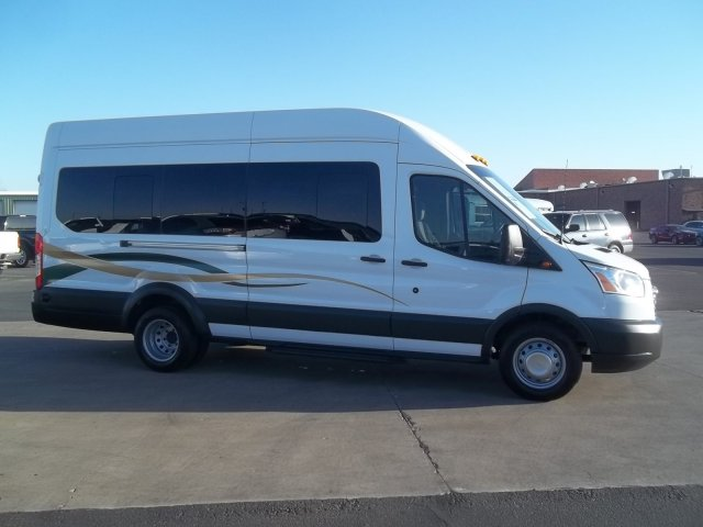 2016 Transit 350 HD High Roof DRW, Passenger Wagon #28657 - photo 3