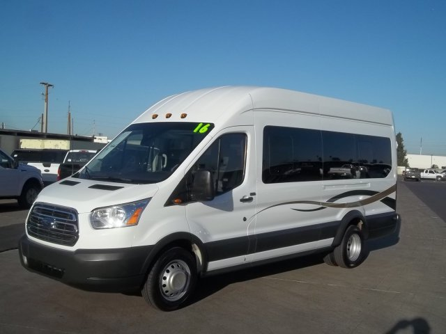 2016 Transit 350 HD High Roof DRW, Passenger Wagon #28657 - photo 8