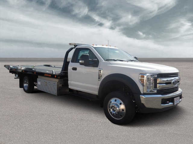 2019 F-550 Regular Cab DRW 4x2,  Jerr-Dan Rollback Body #B90107 - photo 1