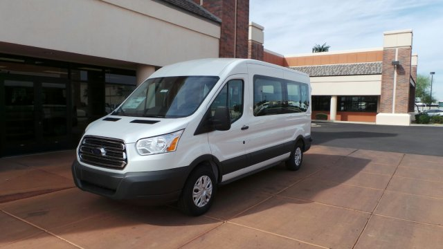2018 Transit 350 Medium Roof, Passenger Wagon #F80221 - photo 2
