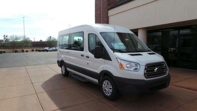 2018 Transit 350 Medium Roof, Passenger Wagon #F80221 - photo 4