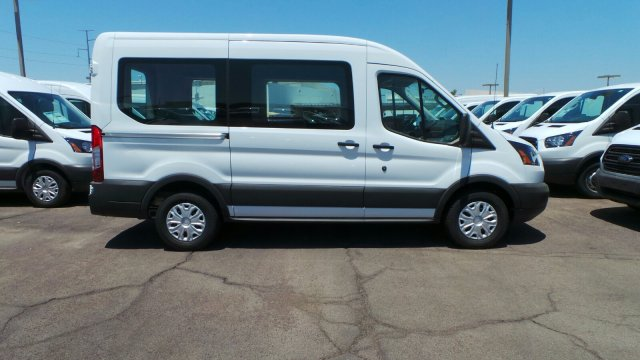 2018 Transit 150 Med Roof 4x2,  Passenger Wagon #F80431 - photo 5