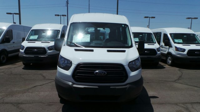 2018 Transit 150 Med Roof 4x2,  Passenger Wagon #F80431 - photo 9