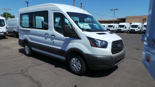 2018 Transit 150 Med Roof 4x2,  Passenger Wagon #F80432 - photo 3