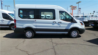 2018 Transit 150 Med Roof 4x2,  Passenger Wagon #F80432 - photo 4