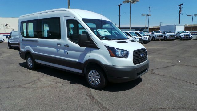 2018 Transit 350 Med Roof 4x2,  Passenger Wagon #F80447 - photo 3