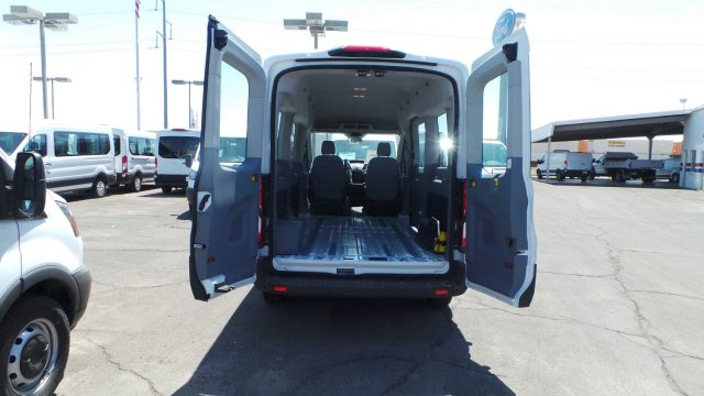 2018 Transit 350 Med Roof 4x2,  Passenger Wagon #F80447 - photo 7