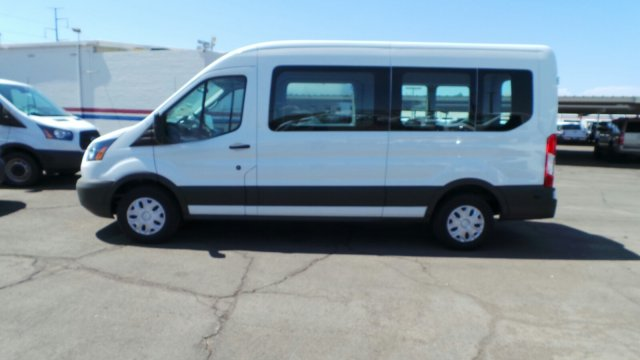 2018 Transit 350 Med Roof 4x2,  Passenger Wagon #F80447 - photo 2