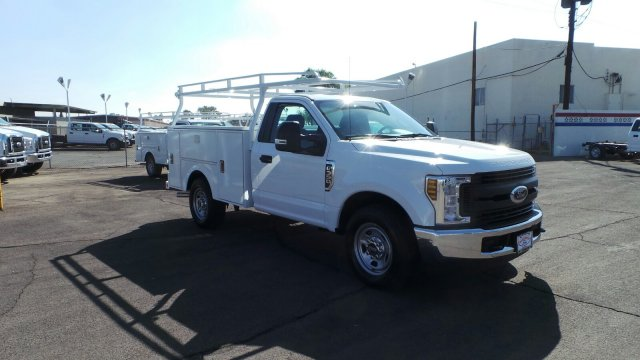 2018 F-350 Regular Cab 4x2,  Stahl Challenger ST Service Body #F80454 - photo 3