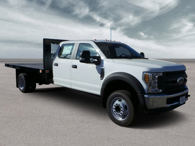 2019 F-550 Crew Cab DRW 4x2,  Knapheide Flatbed #F90076 - photo 1