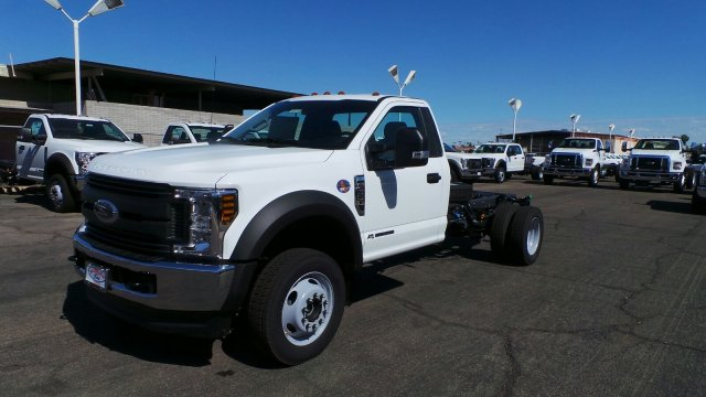 2019 F-550 Regular Cab DRW 4x4,  Cab Chassis #F90105 - photo 1
