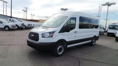 2019 Transit 350 Med Roof 4x2,  Passenger Wagon #F90334 - photo 8