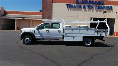 2017 F-450 Crew Cab DRW 4x2,  Royal Contractor Bodies Contractor Body #FT7022 - photo 2