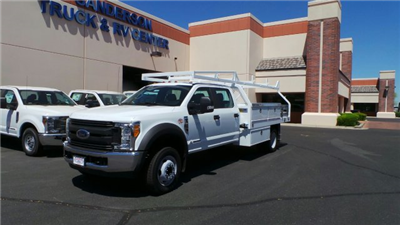 2017 F-450 Crew Cab DRW 4x2,  Royal Contractor Bodies Contractor Body #FT7022 - photo 1