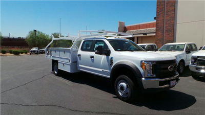 2017 F-450 Crew Cab DRW 4x2,  Royal Contractor Bodies Contractor Body #FT7022 - photo 4