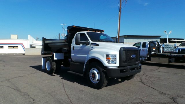 2018 F-750 Regular Cab DRW 4x2,  Valew's Quality Truck Bodies Dump Body #HT0007 - photo 1
