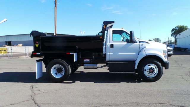 2018 F-750 Regular Cab DRW 4x2,  Valew Dump Body #HT0007 - photo 1