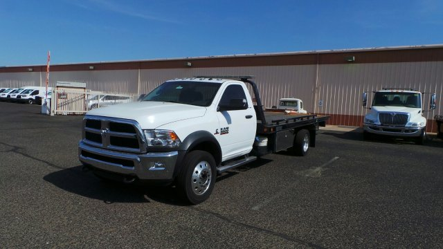 2016 Ram 5500 Regular Cab DRW 4x2,  Rollback Body #HT0022A - photo 4