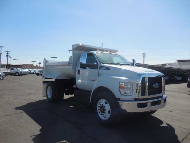 2018 F-750 Regular Cab DRW 4x2,  Valew's Quality Truck Bodies Dump Body #HT0033 - photo 1