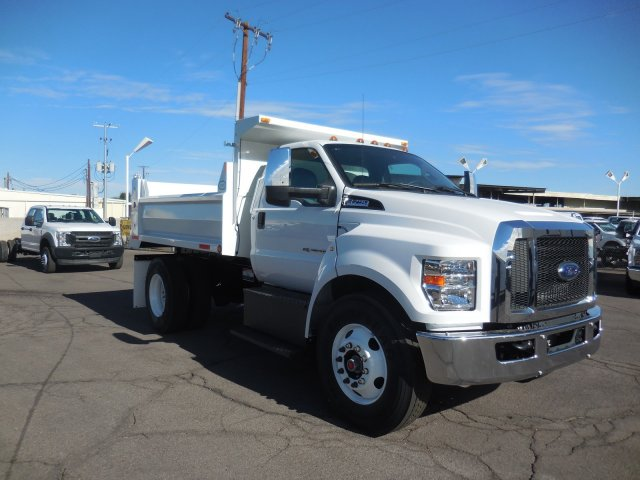 2018 F-750 Regular Cab DRW 4x2,  Valew's Quality Truck Bodies Dump Body #HT0060 - photo 1