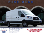 2018 Transit 350 Med Roof 4x2,  Empty Cargo Van #JKA68378 - photo 1