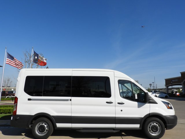 2018 Transit 350 Med Roof, Passenger Wagon #JKA71634 - photo 4