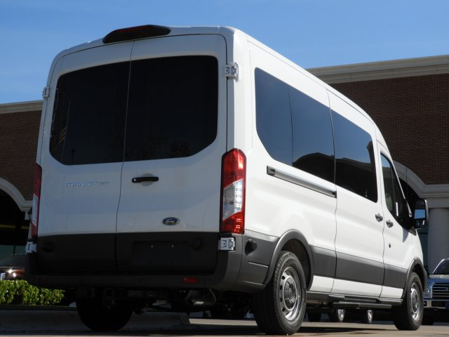 2018 Transit 350 Med Roof, Passenger Wagon #JKA71634 - photo 2