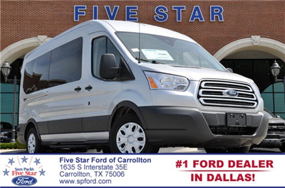 2018 Transit 350 Med Roof 4x2,  Passenger Wagon #JKA71635 - photo 1