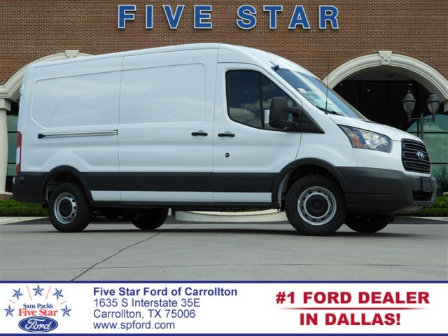 2018 Transit 250 Med Roof 4x2,  Empty Cargo Van #JKB45919 - photo 1