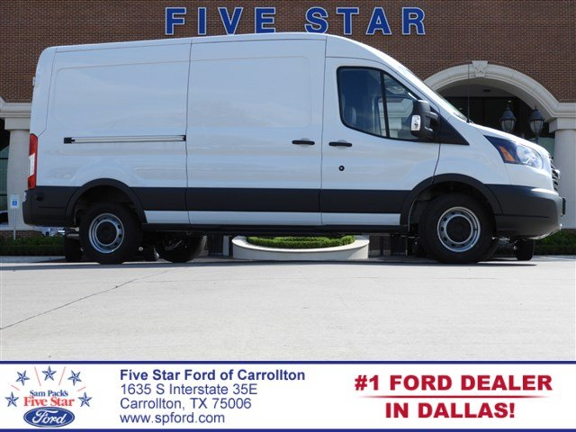 2018 Transit 250 Med Roof 4x2,  Empty Cargo Van #JKB50422 - photo 1