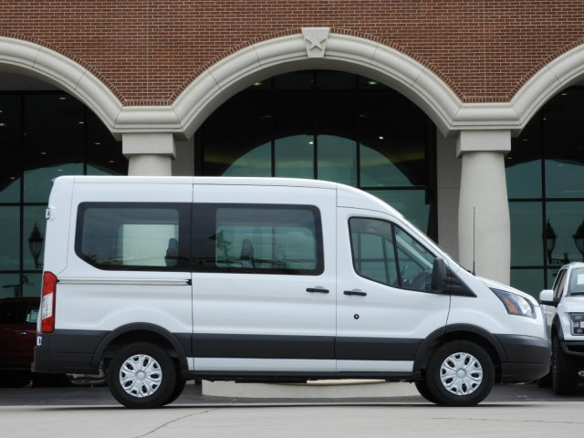 2018 Transit 150 Med Roof 4x2,  Passenger Wagon #JKB54646 - photo 4