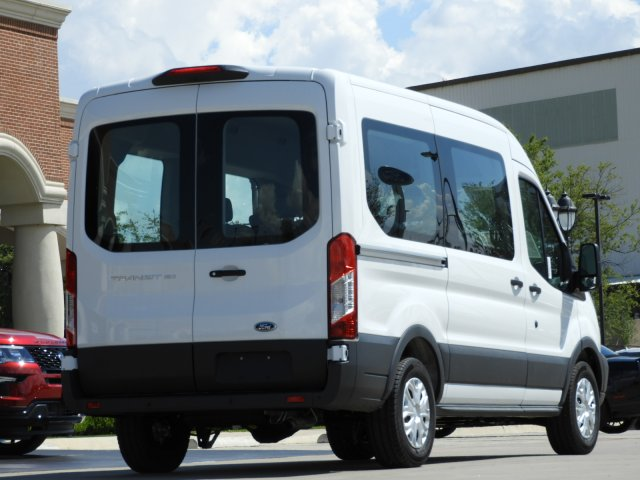 2018 Transit 150 Med Roof 4x2,  Passenger Wagon #JKB54650 - photo 2