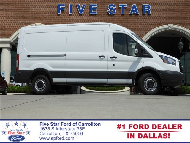 2018 Transit 250 Med Roof 4x2,  Empty Cargo Van #JKB54653 - photo 1