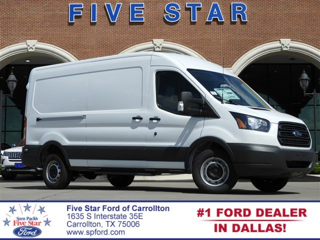 2018 Transit 250 Med Roof 4x2,  Empty Cargo Van #JKB54656 - photo 1