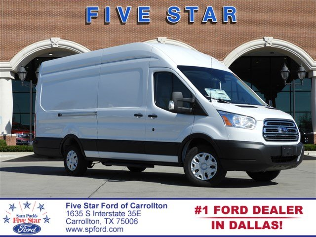 2019 Transit 350 High Roof 4x2,  Empty Cargo Van #KKA12305 - photo 1