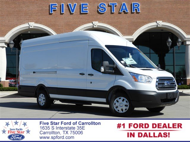 2019 Transit 350 High Roof 4x2,  Empty Cargo Van #KKA12306 - photo 1