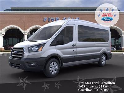 2020 Ford Transit 350 Med Roof RWD, Passenger Wagon #LKA54343 - photo 1