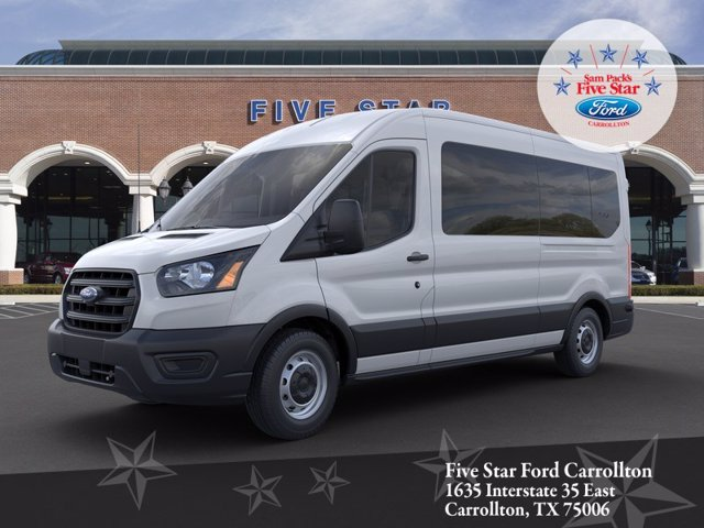2020 Ford Transit 350 Med Roof RWD, Passenger Wagon #LKA58677 - photo 1