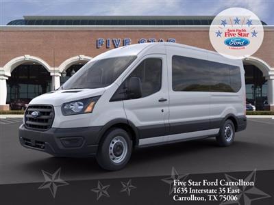 2020 Ford Transit 350 Med Roof RWD, Passenger Wagon #LKA58677 - photo 1