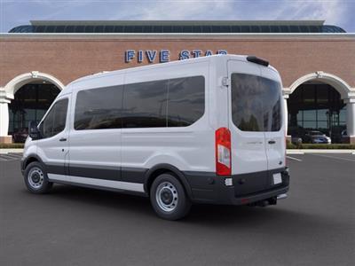 2020 Ford Transit 350 Med Roof RWD, Passenger Wagon #LKA58677 - photo 2