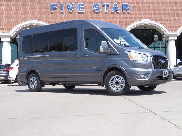 2021 Ford Transit 250 Medium Roof 4x2, Explorer Passenger Wagon #MKA06335 - photo 1